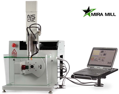 Canadian Made 5 Axis Cnc Mill From Nscnc